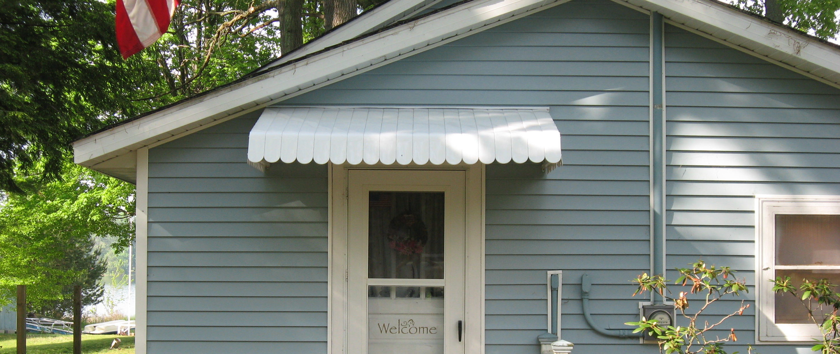 Front Door Awnings For Residential Muskegon Awning