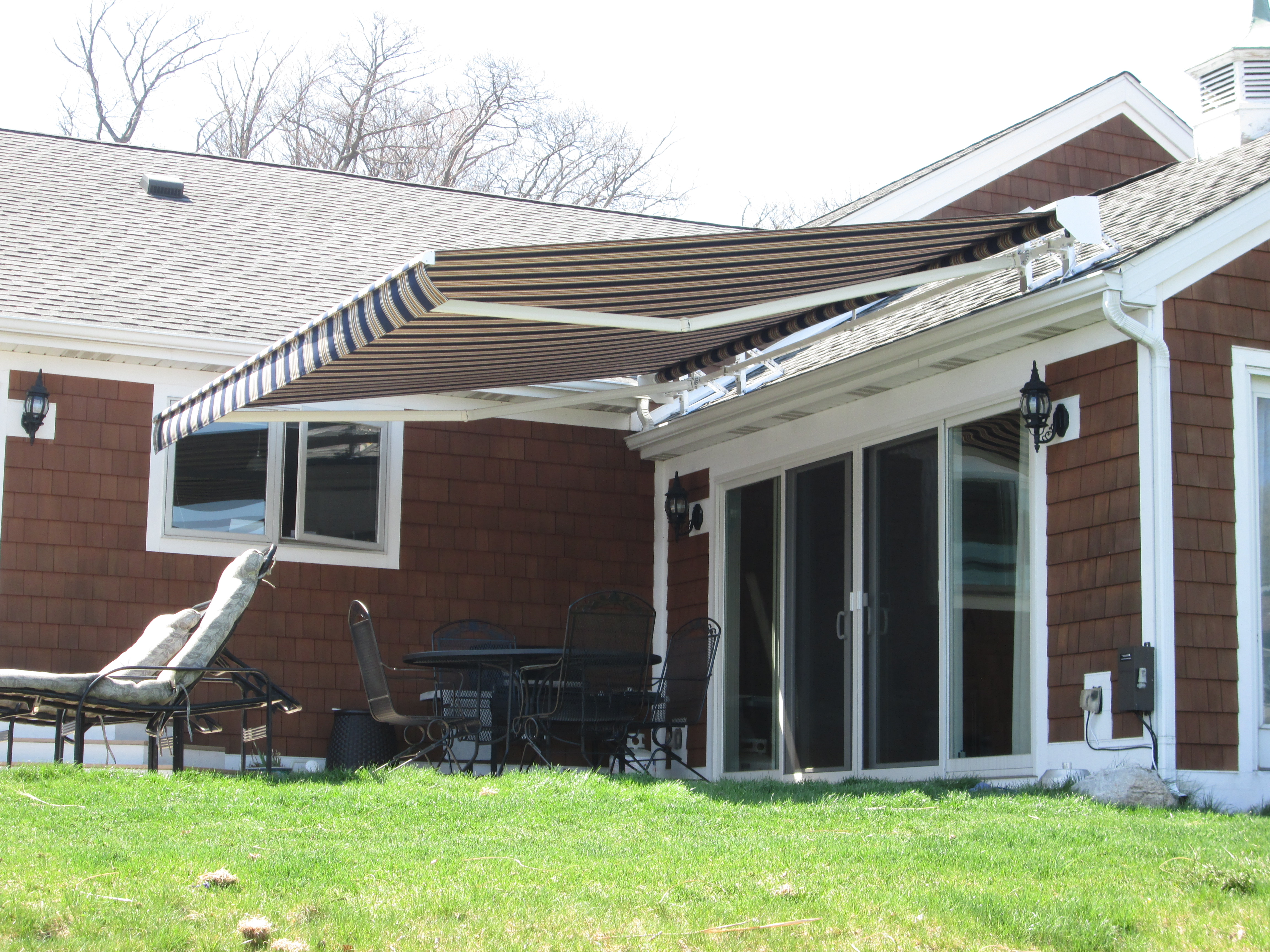 Residential Patio Or Deck Awning Covers Muskegon Awning