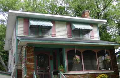 Residential Canvas Window Awnings | Muskegon Awning